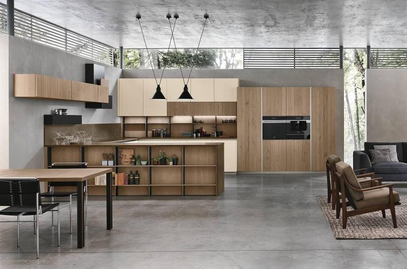 Cucina-FrameNatural-Stosa
