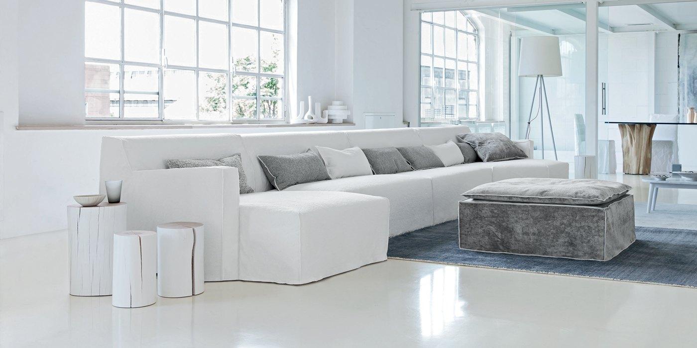 Tutti pazzi per il soggiorno moderno bianco - Arredi Alvaro